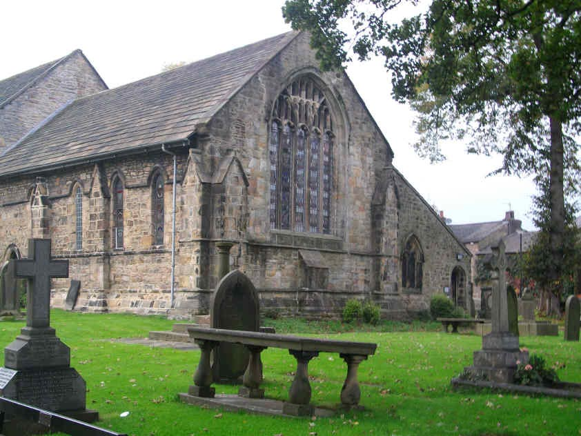 Parish church of St Mary and All Saints, Whalley